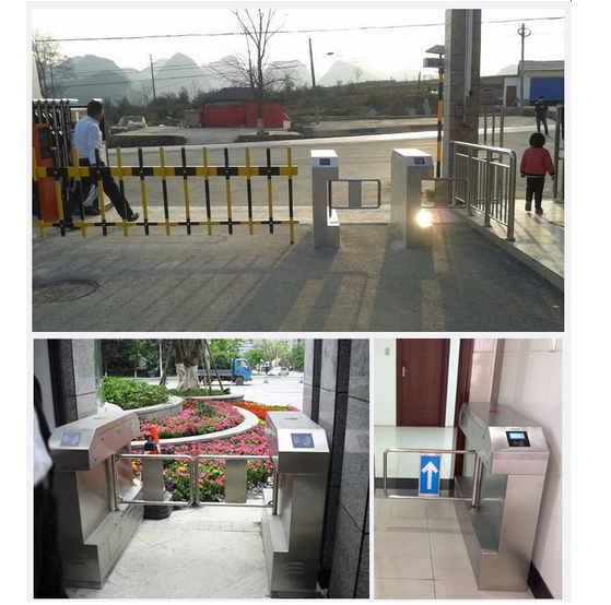 RFID Access Control Gate Bridge Swing Turnstile Barrier