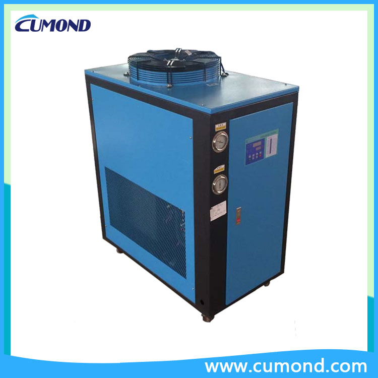 3HP industrial water cooled chiller CUM3WC