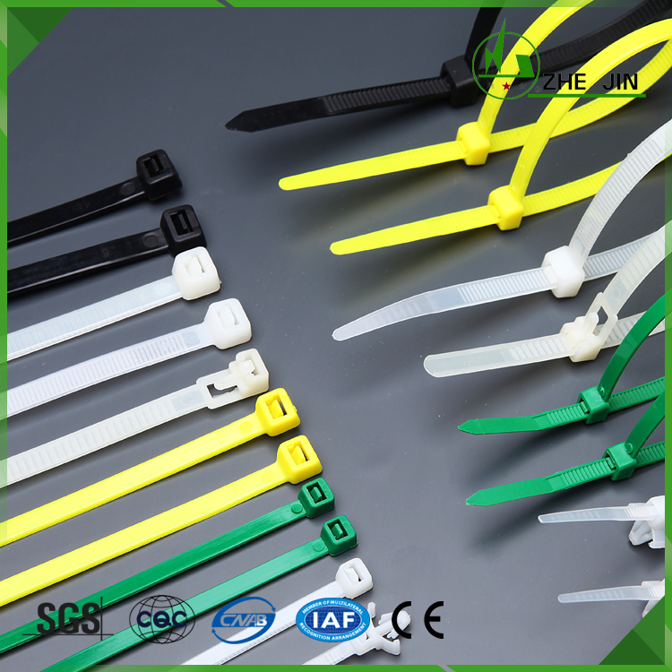 Plastic Cable Ties Selflocking Nylon Zip Ties