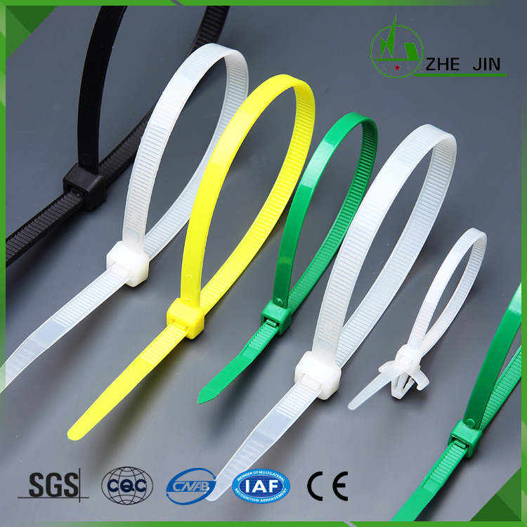 Plastic Cable Ties Self-Locking Nylon Zip Ties