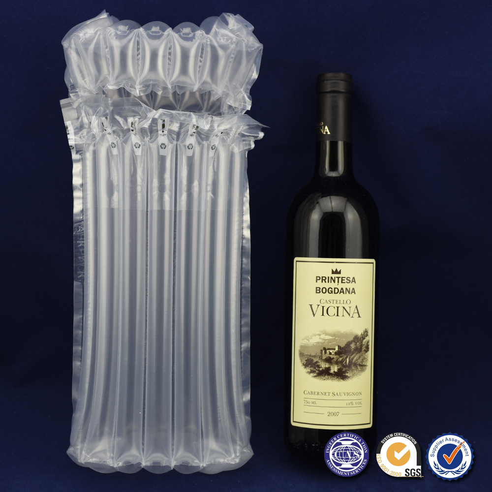 Air Bubble Bags for Wine Bottle Packing