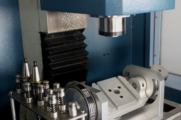 Micor 5 Axis CNC Machine Center