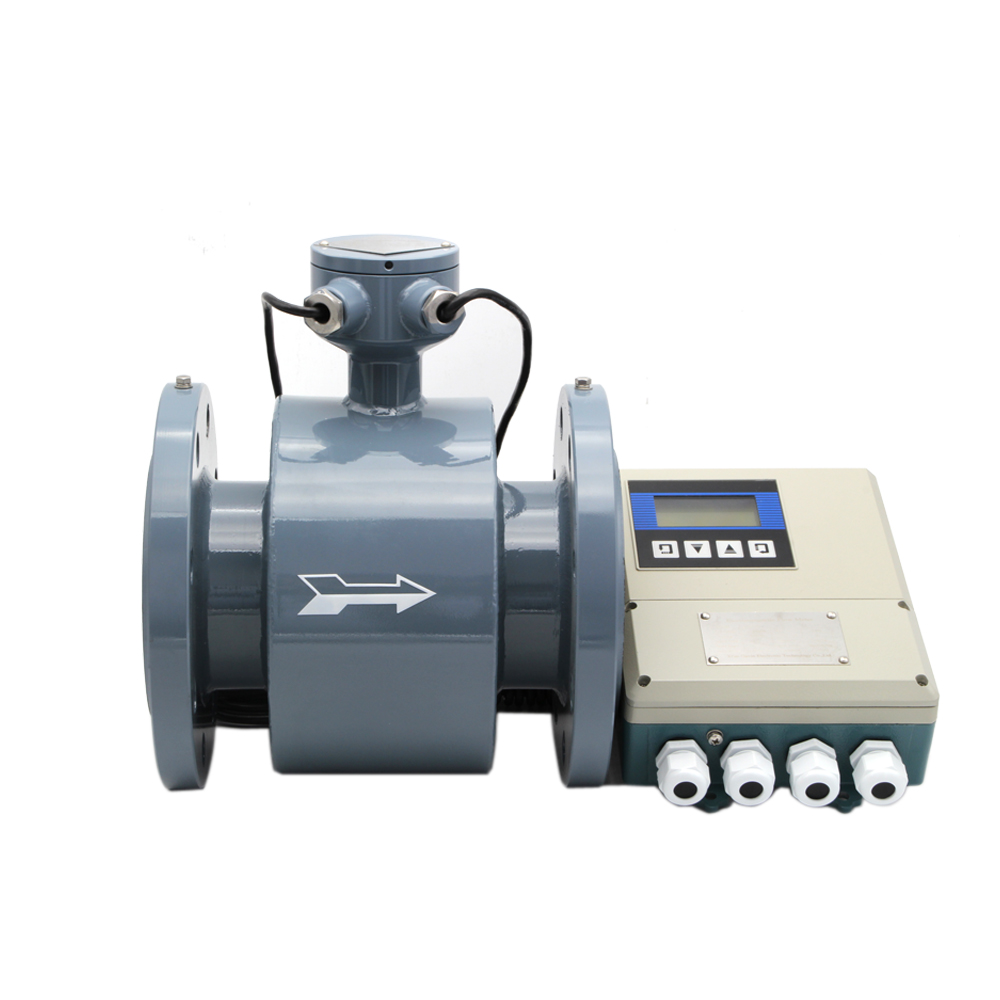 GMF100 LCD Digital Water Magnetic Flow Meter