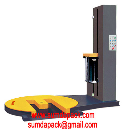 SD-1650FM Automatic Stretch Film Wrapping Machine with Forklift Groove