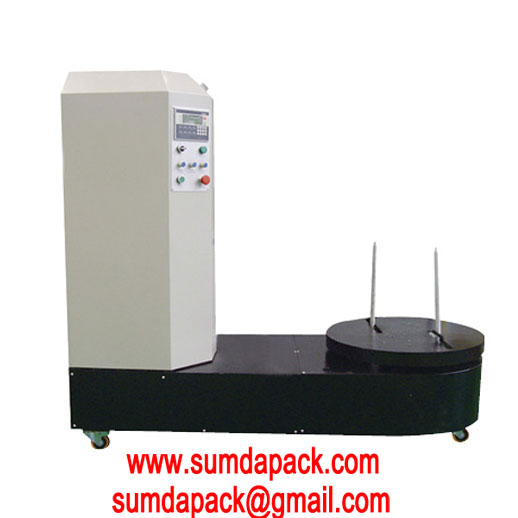 SD-600H Automatic Airport Luggage Wrapping Machine