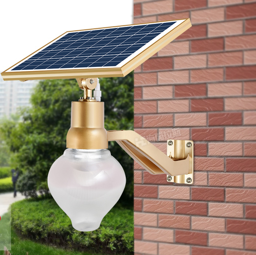 Integrated Solar Led Garden Lights From