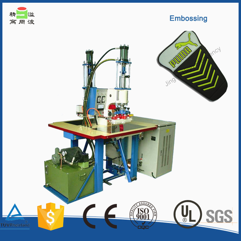 Leather, PVC, PU Fabric High Frequency Logo Embossing Machine
