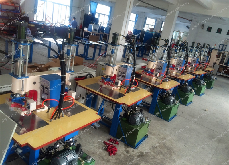 LeatherPVCPU fabric high frequency logo embossing machine