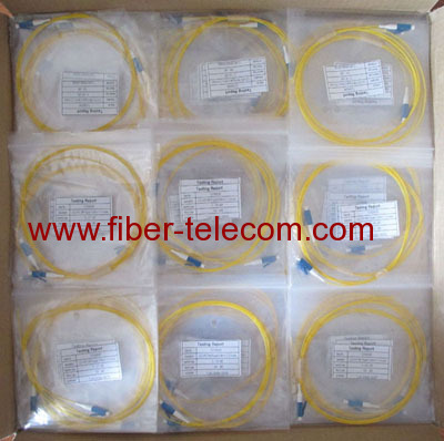 LC Multimode OM3 Fiber Optic Pigtail 09mm
