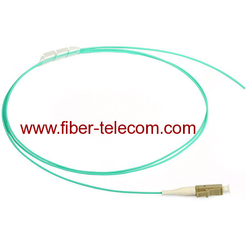 LC Multimode OM3 Fiber Optic Pigtail 0.9mm