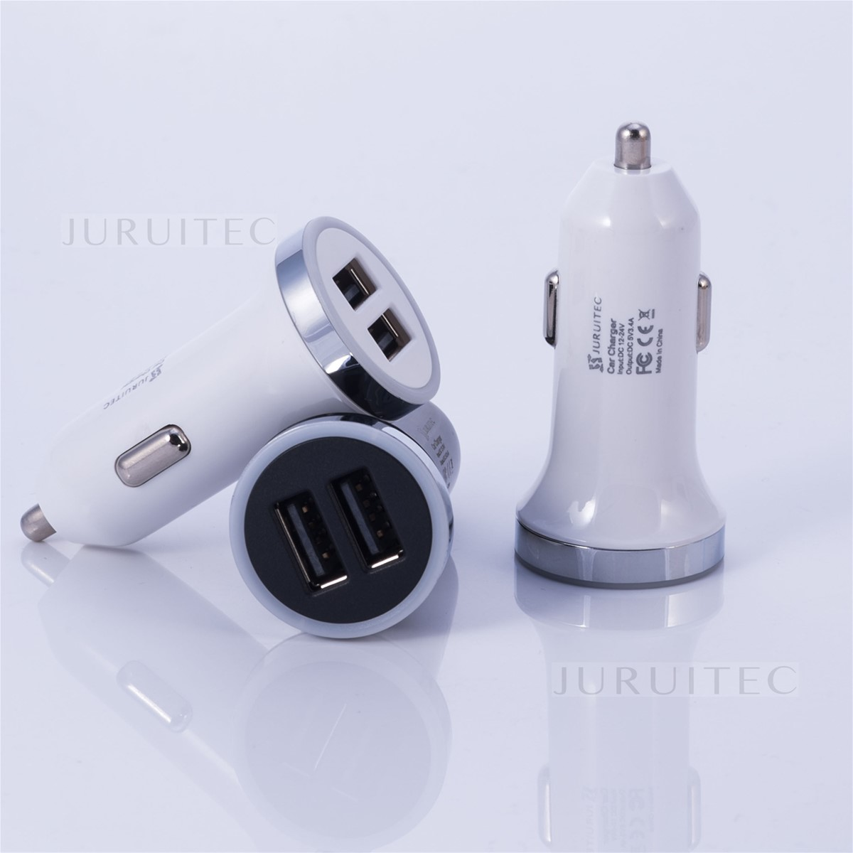 Dual Ports USB Car Charger Mobile Phones Car Charger 3.1 A MANUFACTUTERE