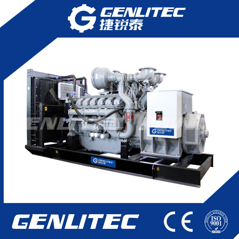 1200kw Power Generator 1500kVA Perkins Industrial Generator