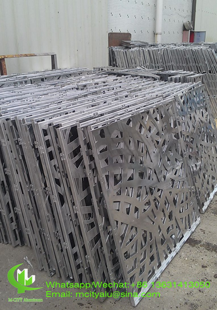 Decorative Building Facade Modern Exterior Metal Sheets For Walls
