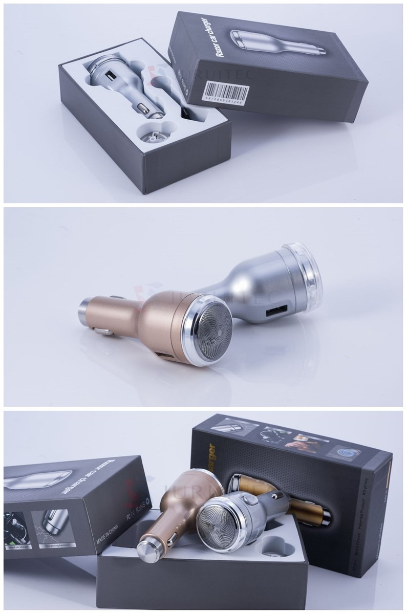 Wholesale Single Port 21A Usb Car Mobile Charger with Razor