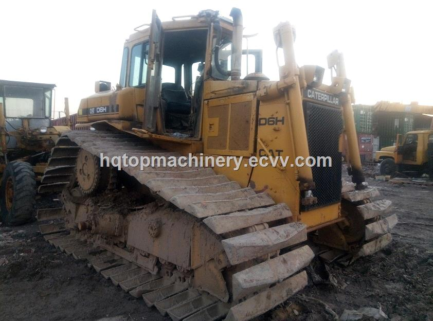 Used Caterpillar D6H Crawler BulldozerJapan Original Cheap Dozer Bulldozer