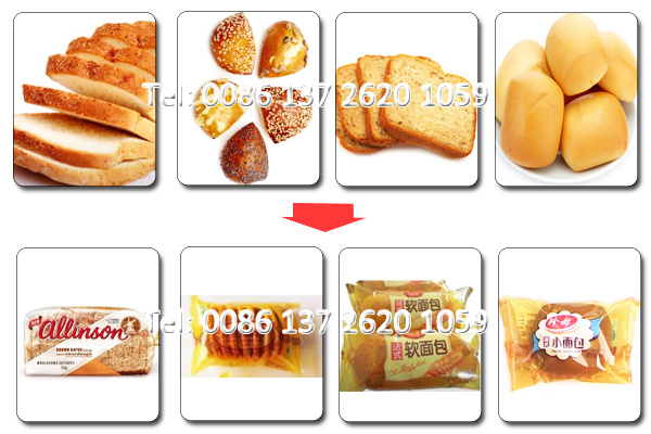Pillow Type Warring Machine for Bread Automatic Packing Machine