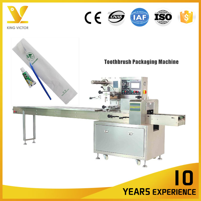 304 Sus Toothbrush Form Fill Seal Packing Machine