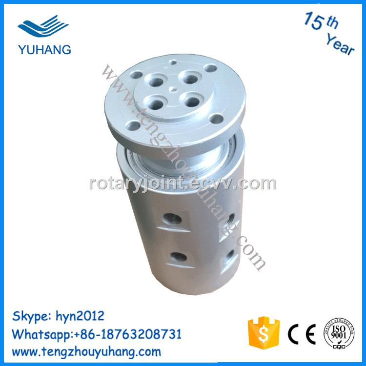 4 Channel High Pressuer Hydraulic Rotary Union 4 Passage Pneumatic Rotary  Joint