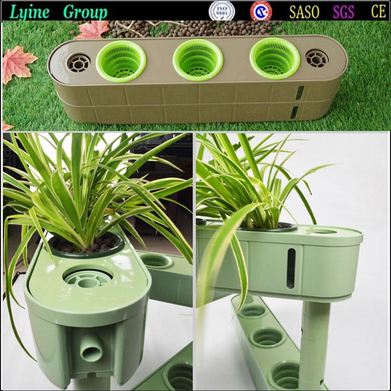 Self Watering Vertical Garden Indoor Garden Organic Hydroponics Planting Box