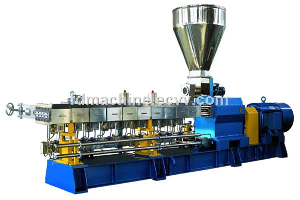 PET granulation line Parallel twin screw extruder
