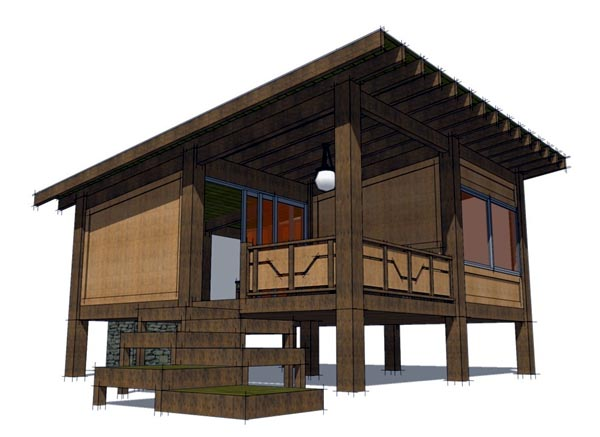 China Wood House Supplier Wooden Log Houses