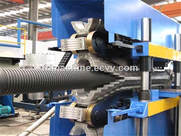 CNC progressed corrugated pipe production line forming machine