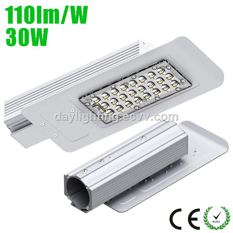 30w led street light with osram chip meanwell driver ip65 5 year