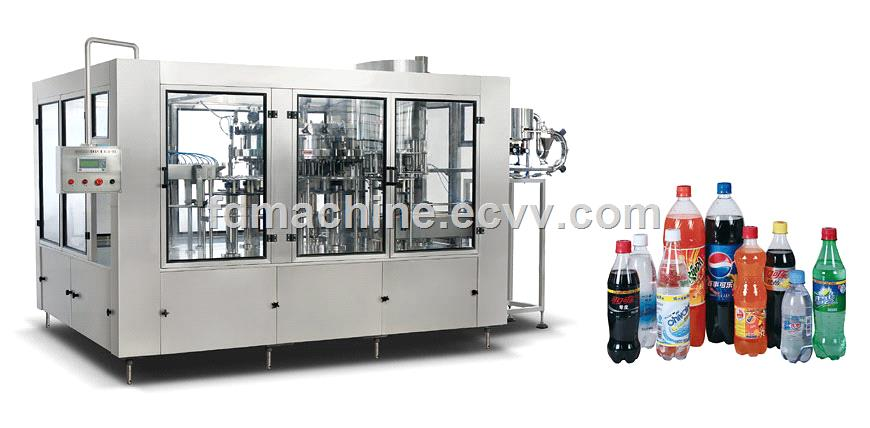 Three-in-One Sparkling Beverage Filling Line