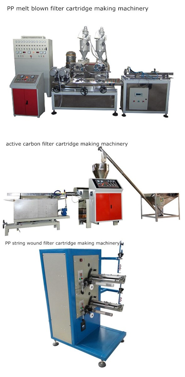 Prefilter Use PPCTO Cartridge Making Machine For ROUV Water Treatment System