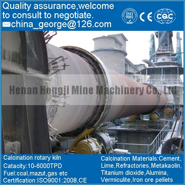 Factory Price Good Quality aluminium hydroxide Rotary Kiln Sold to Daoguz Province