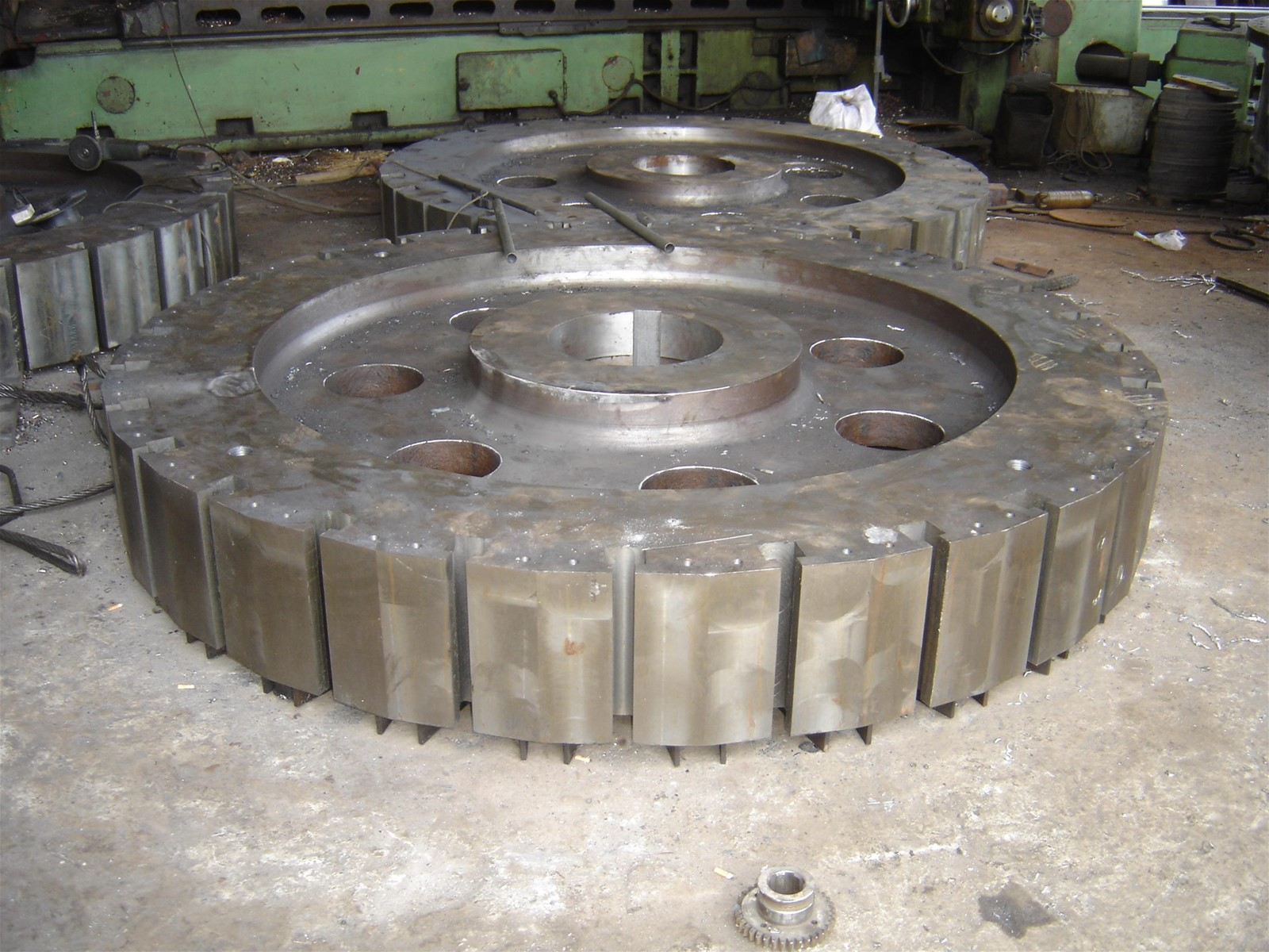 Hydraulic Turbine Magnetic Yoke