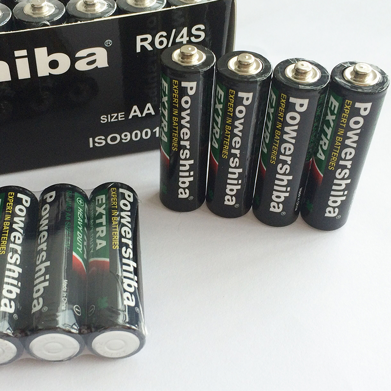 Heavy Duty Zinc Carbon Cell Batteries 1 5v R03 Um-4 AAA Carbon Dry Battery