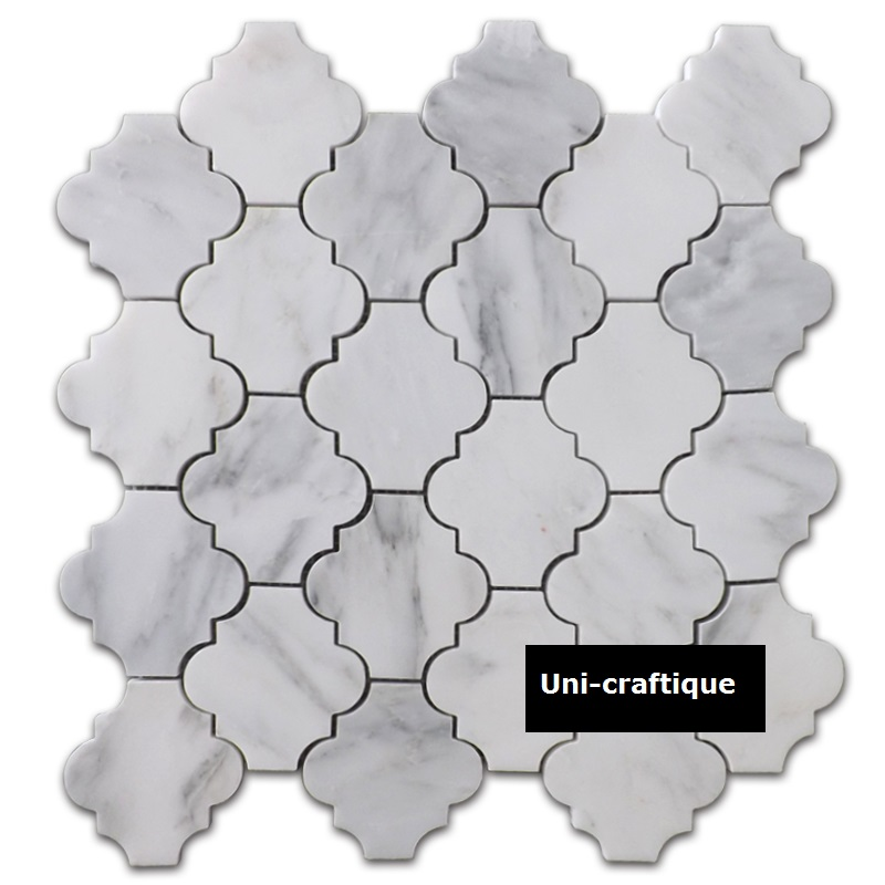 China Carrara Marble Mosaic Tile