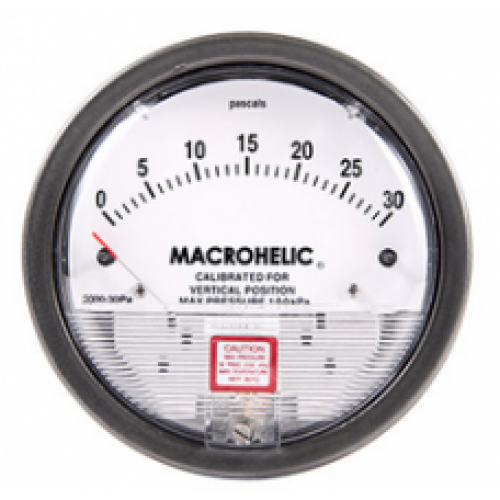 Micro Differential Pressure Gauge