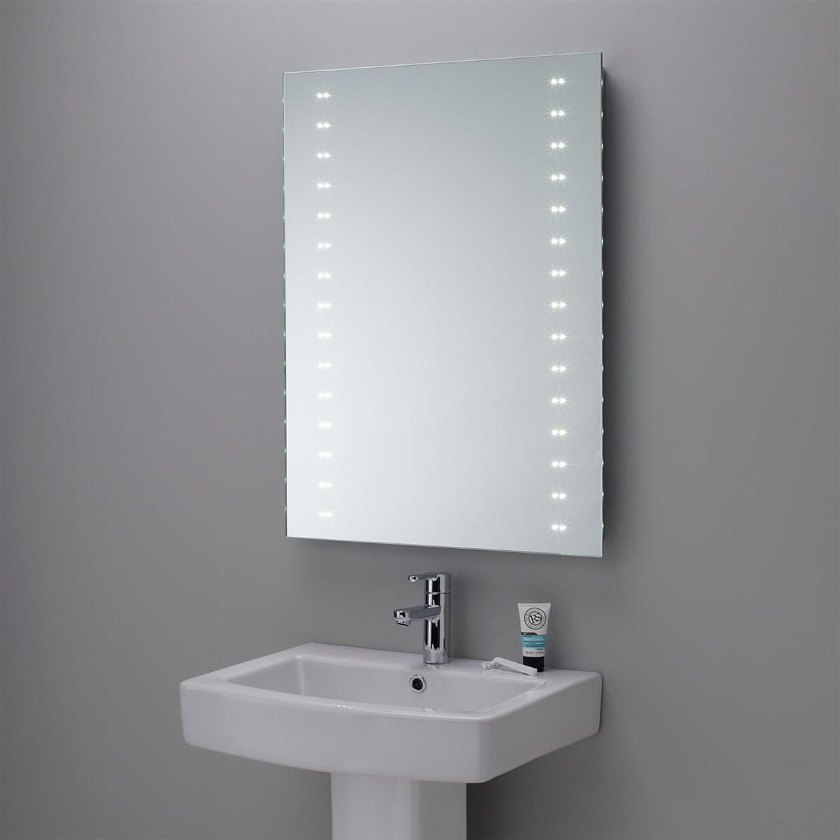 Modern Hotel LED Illuminated Backlit Bathroom Mirror purchasing ...