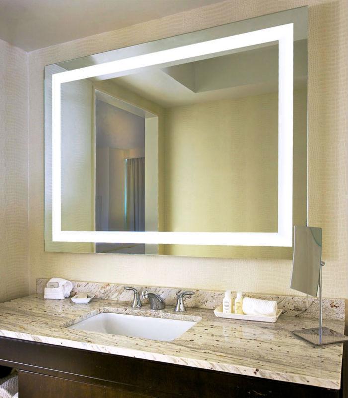 Modern Hotel Led Illuminated Backlit Bathroom Mirror Purchasing