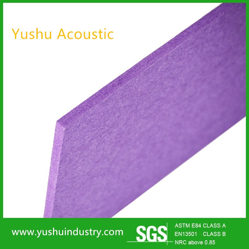 polyester fiber acoustic sound insulation boards for wall and ceiling