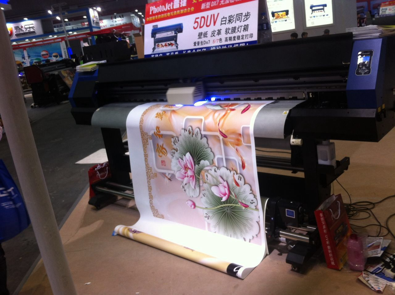 Eco solvent printer for paper printing digital UV printing machine price