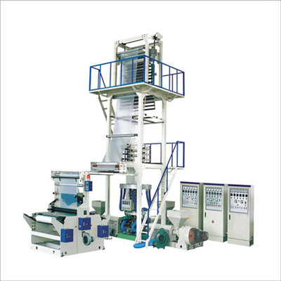 ABC three layer coextrusion film blowing machine