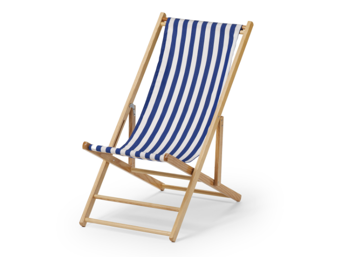 Fast Delivery Beach Lounge Chair Wooden Beach Chair
