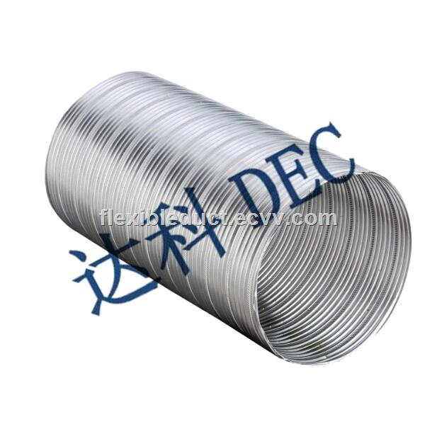 Air Conditioning 8 Inch Flexible HVAC Duct Ideal Choice Insulated Flexible  Duct Hose