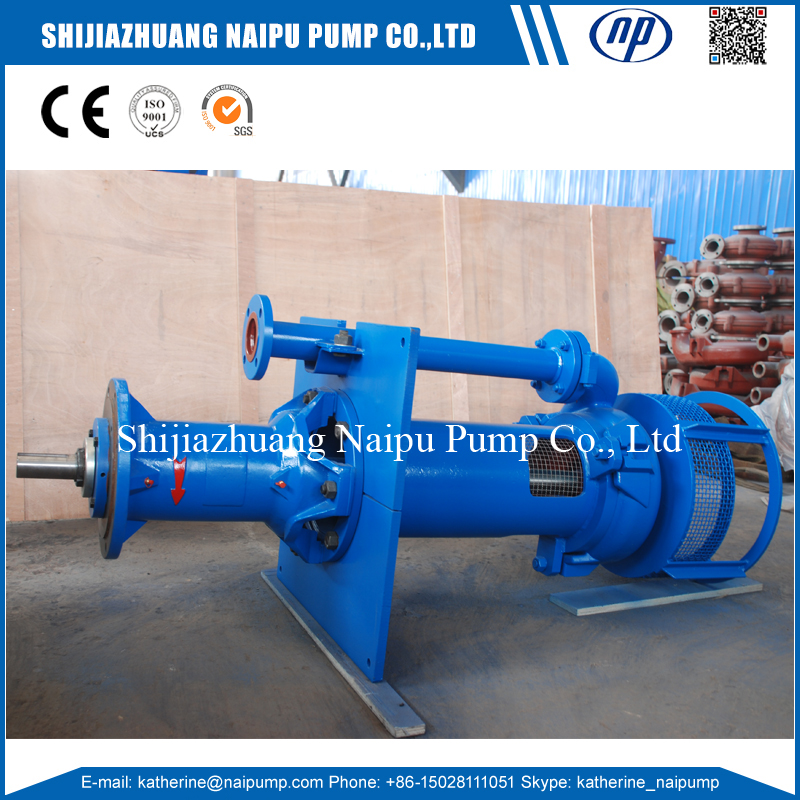 SP China Manufacturer Vertical type of Heavy Duty Slurry Pump