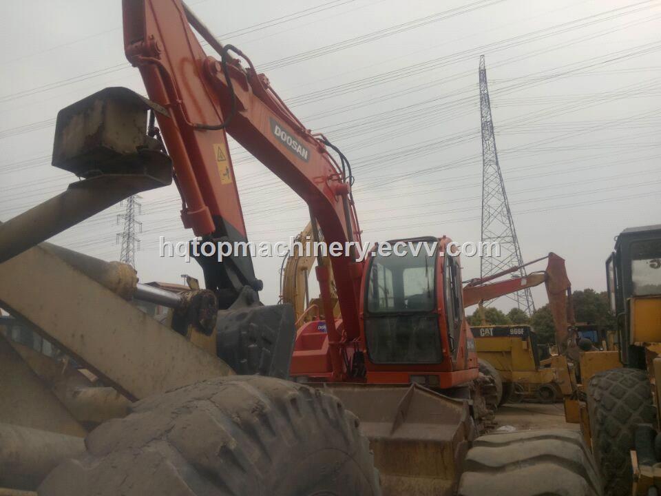 Used Doosan WV140 140 DH140 Wheel Excavator, Korean Original