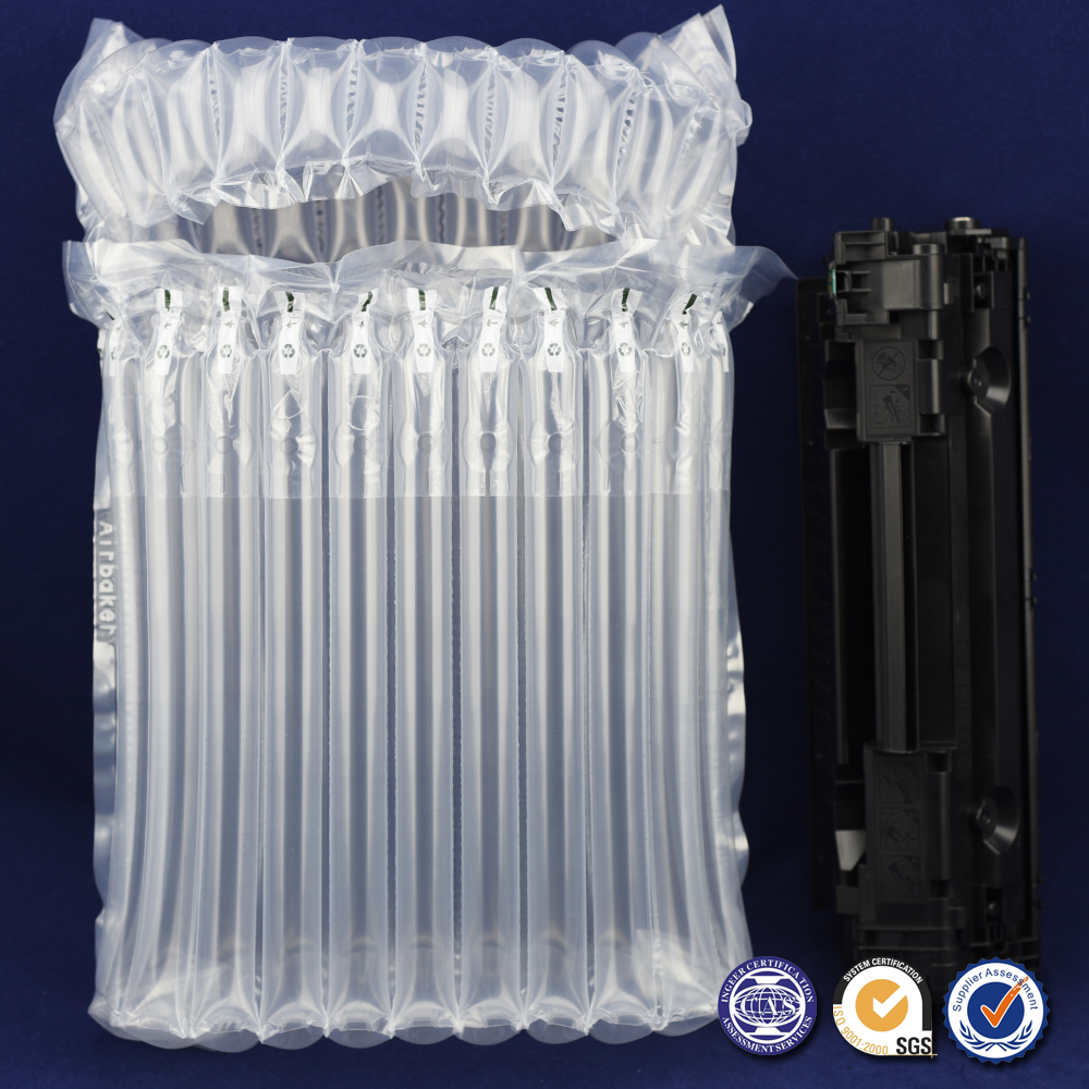 Factory Hot Sales Durable Air Bubble Bags for 11 Columns Toner Cartridge