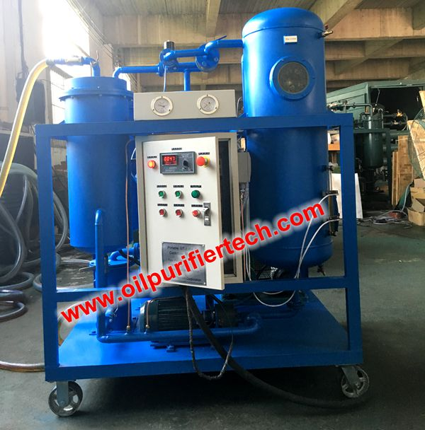 Turbine oil Vacuum dehydration plantturbine oil purification machine and vacuum cleaner