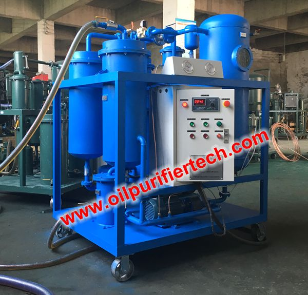 Turbine Oil Vacuum Dehydration Plant, Turbine Oil Purification Machine & Vacuum Cleaner