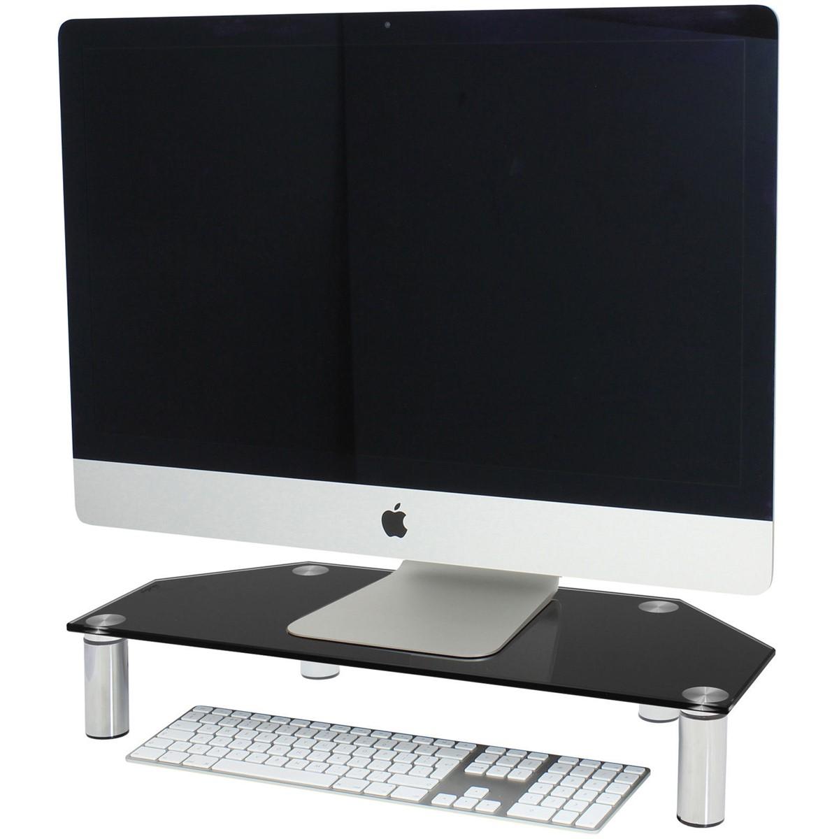 Corner Monitor Tv Screen Riser Shelf For Computer Imac