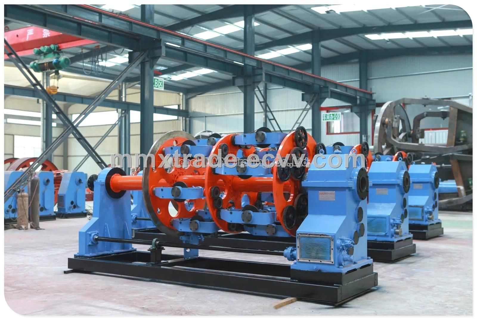 Stranding Machine for Steel Wire Rope Cable Strander Planetary ...