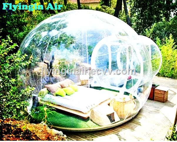 uk availability 9ac3e a920c 8m Waterproof Clear Roof Inflatable Bubble Tent for Outdoor & Camping