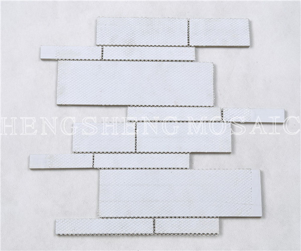 HYM100 WellDesigned Crystal Glass Brick Tiles for Back splash